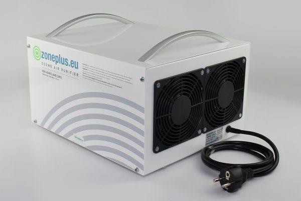 Ózongenrátor beépített ipari ventilátor