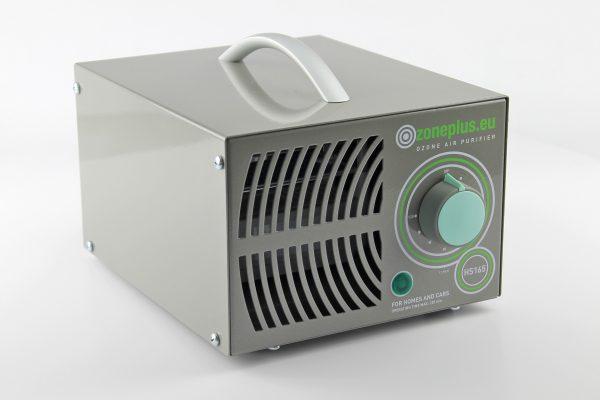 HS165 ózongenerátor oldal-elölnézet
