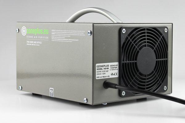 ózongenerátor Ozoneplus HS165 - hátulnézet